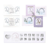 Magical Unicorn Multi Picture Photo Frame Kids Baby Nursery Bedroom Decoration[Spread The Sparkle Frame]