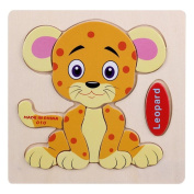 Mxixi Baby Wooden Toys Cute Animals Shaped Alphabet Puzzle Educational Learn Picture Boards Jigsaw Gifts