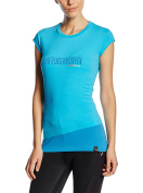 Wild Country Womens Heritage T-shirt - Cyan Blue