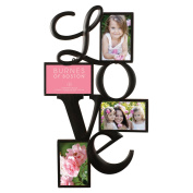 Nielsen Bainbridge Burnes of Boston Love Collage Picture Frame with 4 Openings