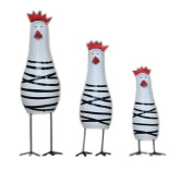 Personalised Ornament Home Decor Creative Gifts Lovely Chicken Family Decoration