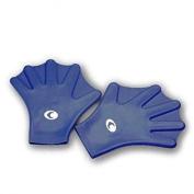 Silicone Swim Gloves corsport TG.s Blue Cor Sport