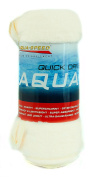 Aqua-Speed ® Dry Soft Dry Flat | Dry Coral Microfibre Wring-Dry Travel Towel Sports Fitness (Extra Absorbent Antibacterial Anti Allergy