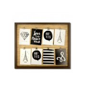 Kole Imports Wire Lines Picture Frame