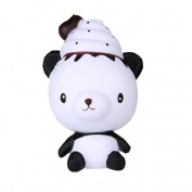 erthome Exquisite Fun Q Poo Panda Scented Squishy Charm Slow Rising 13cm Simulation Cute Toy