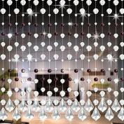 Saihui Crystal Glass Bead Curtain Luxury Living Room Bedroom Window Door Wedding Decor