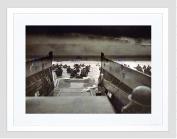 WAR MILITARY HISTORY D DAY LANDING NORMANDY WWII FRAMED ART PRINT B12X11980