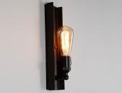 HOHE SHOP/ Retro Nostalgic Style Iron Lamp Body Iron Lampshade E27 Wall Lamp