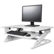 Kantek Desktop Riser Workstation Sit To Stand White