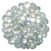 GLASS PEBBLES FOR AQUARIUM AND DECORATIVE PURPOSE TRANSPARENT colour 200 pcs