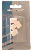 Shepherd White Plastic Leg Tips