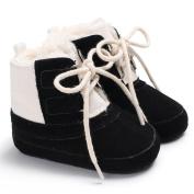 Tangbasi® Toddler Newborn Baby Snow Boots Winter Warm Prewalker Kids Shoes Anti-Slip