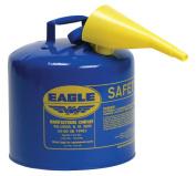 Type l Safety Cans, Kerosene, 18.9l Blue, Funnel