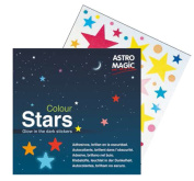 Stars Colour, Adhesives, Glow in the Dark