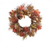 Wheat Mix Twig Wreath 60cm