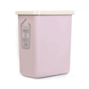 GAOLILI Simple Trash Cans Household Bathroom Toilets Living Room Rectangular Dustbins