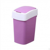 GAOLILI Creative Shaking Square Trash Cans Household Bathroom Living Room Bedroom Dustbins