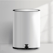 GAOLILI Simple Mute Pedal Trash Cans Household Living Room Kitchen Bathroom Dustbins