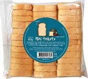 Toasts, 80 g, Bag