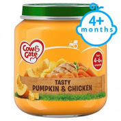 Cow & Gate Pumpkin And Chicken 4 Month+ 125G Jar