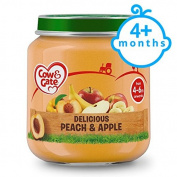 Cow & Gate Stage 1 Peach And Apple 125G Jar