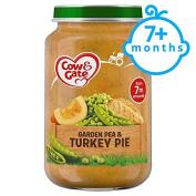 Cow & Gate Stage 2 Pea And Turkey Pie 200G Jar