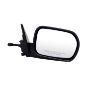 For Honda Accord Black Manual Remote Replacement Passenger Side Mirror