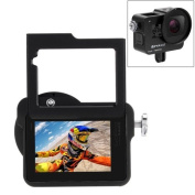 GoPro HERO6 /5 Housing Shell CNC Aluminium Alloy Protective Cage with Insurance Frame & 52mm UV Lens