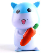 Stress Relief Toys for Kids Adults Slow Rising Squishies Jumbo Mingfa Cute Soft Radish Rabbit Squeeze Animal Toy Cure Gift