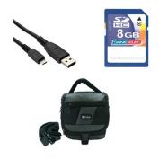 Panasonic HC-V750 Camcorder Accessory Kit includes