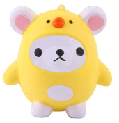 Stress Relief Toys for Kids Adults Slow Rising Squishies Jumbo Mingfa Kawaii Cute Soft Bear Squeeze Animal Toy Cure Gift