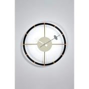 Aeon Furniture 30cm . Roadway Modern Clock - Black & Gold