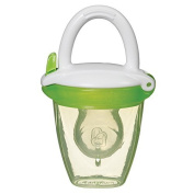 Baby Fresh Food Mesh Feeder Deluxe Gets Nutrition with No Risk Munchkin Green Silicone