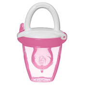 Baby Fresh Food Mesh Feeder Deluxe Gets Nutrition with No Risk Munchkin Pink Silicone