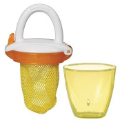 Baby Fresh Food Mesh Feeder Deluxe Gets Nutrition with No Risk Munchkin Yellow, Deluxe
