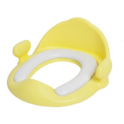 Baby sitting on the stool Baby girl toilet Baby cushions toilet ring-B