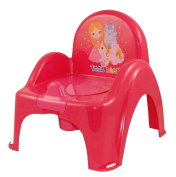 Pot of Baby Toilet Chair Pink Princess Theme Easy to Clean