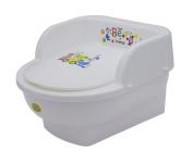 Maltex Baby Toddler Throne Toilet Potty, White