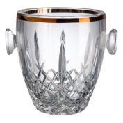 Bohemia Crystal Blues Filo Ice Bucket, Glass, 12 x 12 x 14 cm