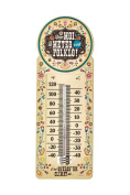 Natives 611850 Folklo Thermometer Metal Design 10.5 x 10.5 cm x 30 cm