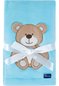 Be Mammy Children Baby Blanket with 3D Application 76 x 102 cm BE20-168