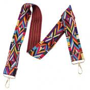 LeahWard Multi Colour Shoulder Bag Strap Women's Aztec Guitar Strap Accessories 010