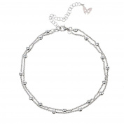 Vamp Chic Silver Ankle Chain Vamp London