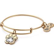 Alex and Ani Prints of Love Expandable Charm Bracelet, Rafaelian Gold-Tone