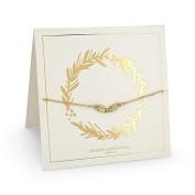 Johnny Loves Rosie Holly Gift Card Women Charm Bracelet of Length 22cm 5055632017884