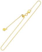 Women's Anklet Chain Ankle Bracelet Link Foot Chain Gold 333 8kt