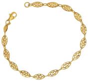 Women Bracelet Chain Bracelet 333 gold 8ct