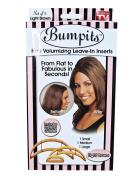 3 x Hair Volumising Inserts Lifters Bumpits Lift Volume Volumiser Light Brown