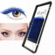 DRESS® False Eyelash Extensions Makeup Fibre Eye Lashes 12 Rows Fitted 4 Sizes Choice