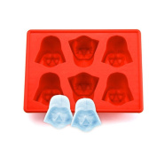 JIUXIAO Silicone Star Wars Darth Vader Ice Cube Tray Mould Cookies Chocolate Soap Baking Kitchen Ice Cream Tool